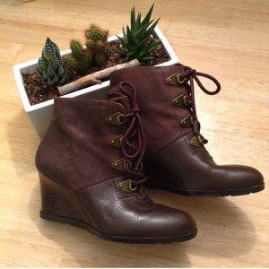 Franco Sarto Derby Boots
